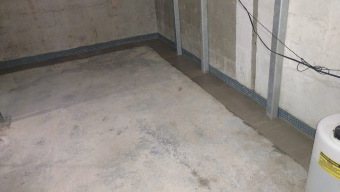 Interior Basement Waterproofing in Findlay, Ohio