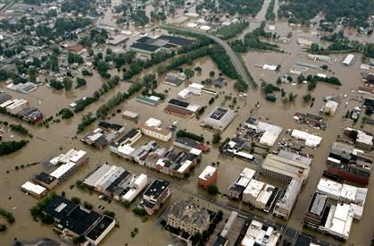 Findlay, Ohio Flood